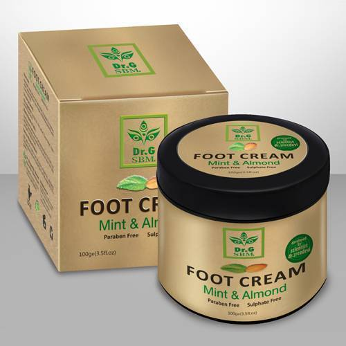 SBM FOOT CREAM - Mint & Almond