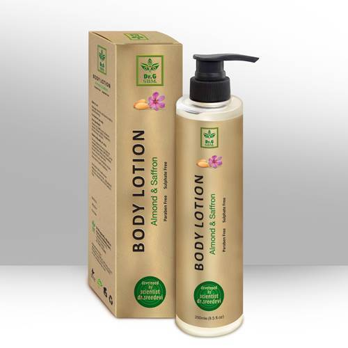 SBM BODY LOTION - Almond & Saffron