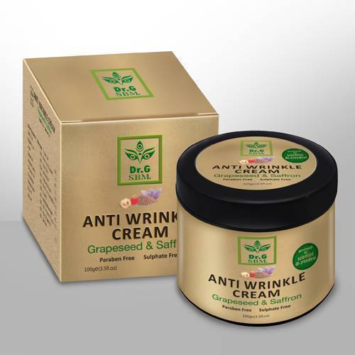 SBM ANTI WRINKLE CREAM - Grapeseed & Saffron