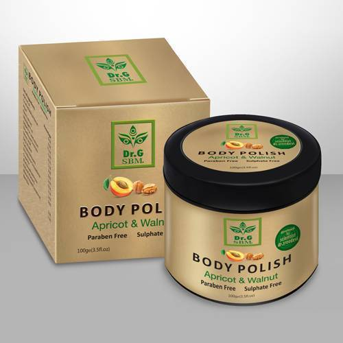 SBM BODY POLISH - Apricot & Walnut