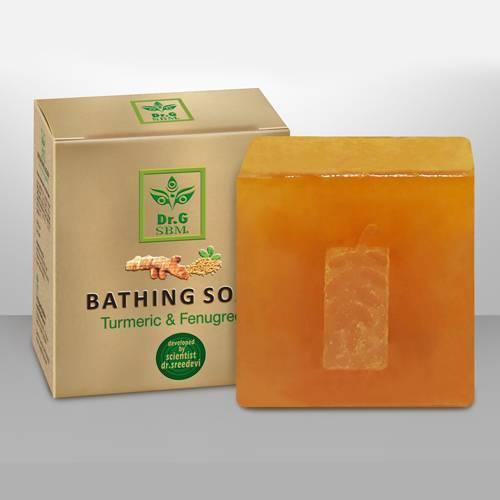 SBM BATHING SOAP - Turmeric & Fenugreek